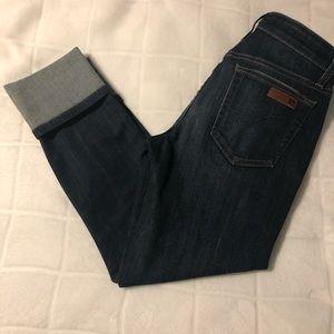 Joe's brand cropped jeans size 26.